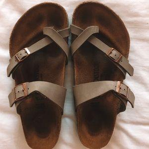 Shoes - Gray mayari Birkenstock's size 41